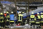 Four people were killed when two trains collided head-on in the southern German state of Bavaria on Tuesday.