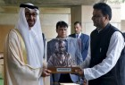 Sheikh Mohammed bin Zayed, Crown Prince of Abu Dhabi and Deputy Supreme Commander of the Armed Forces arrived New Delhi.