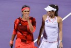 The world's top tennis team of Sania Mirza and Martina Hingis had not lost a match since last August in Cincinnati.