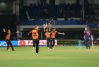 Sunrisers Hyderabad returned an all-round bowling performance to defend their low total and beat Rising Pune Supergiants by four runs in a nail-biting Indian Premier League (IPL) clash on Tuesday.