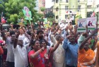Tamil Nadu Assembly elections 2016: AIADMK supporters seen celebrating outside party headquarters