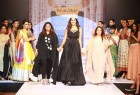 Mumbai based designer duo (and sisters) Alpa & Reena who have successfully dressed prominent film and television personalities like Waheeda Rehman, Farah Khan, Raveena Tandon, Isha Talwar and Amy Jackson, were back for their second innings at  the prestigious Bangalore Fashion Week  this season with a collection titled