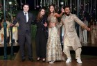 """Photos of Actors Ranveer Singh and Vaani Kapoor during the cinema-inspired ethnic wear fashion brand """"Divani"""" fashion show in New Delhi on Nov 23, 2016."""