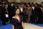 Nicki Minaj shows off curves and cleavage at Met Gala 2017.