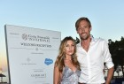 Abbey Clancy and Peter Crouch attend the Welcome Dinner prior to The Costa Smeralda Invitational golf tournamen at Pevero Golf Club - Costa Smeralda on June 16, 2017.