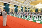Kicking off the third edition of the International Yoga Day celebrations at Rashtrapati Bhawan here, Mukherjee said the ancient Indian practice was useful for curing physical as well as mental disorders.