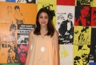 Actress Anushka Sharma promotes Jab Harry Met Sejal at Yashraj studio.