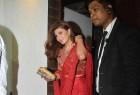 Jacqueline Fernandez spotted at Aamir Khan's Diwali Party.