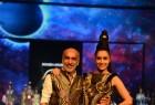 Shraddha Kapoor ramp walk at Blender's Pride Fashion tour for Manish Arora.