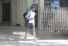 Bollywood actor Dino Morea spotted outside his gym in Bandra.