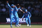 India dominated with both bat and ball to thrash South Africa by 124 runs in the third One-Day International (ODI) here on Wednesday. The Indians rode on skipper Virat Kohli's unbeaten 160 to post a total of 303/6 in their allotted 50 overs.