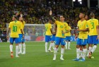 Brazil eliminated Serbia with a 2-0 victory as the five-time world champions entered the FIFA World Cup pre-quarterfinals by topping the Group E here on Wednesday. Paulinho (36th minute), Thiago Silva (68th minute) gave the South American powerhouse an easy victory which took their points tally to seven after all the three of their games in the group stage. Switzerland finished the Group E in the second spot with five points to book a spot in the second round. Serbia finished third with three points and are eliminated alongside Costa Rica. For Brazil, who had played a 1-1 draw with the Swiss before defeating Costa Rica, the victory over Serbia was soured by a leg injury to Real Madrid left-back Marcelo, who hobbled off the pitch in the opening minutes, reports Xinhua news agency.