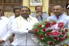 """Senior Congress leader R. Gundu Rao on Wednesday assumed charge as President of its Karnataka unit at a massive rally at the Bengaluru Palace grounds here. Party President Rahul Gandhi had on July 4 appointed Rao to the post. Party's new Working President Eshwar Khandre also took charge with Rao. Deputy Chief Minister G. Parameshwara, who has been the party's president since 2010, resigned in line with its policy of holding one post. Rao, 48, is a fourth-time MLA from Gandhinagar assembly constituency in Bengaluru central and second son of former Congress Chief Minister R. Gundu Rao. """"By appointing Rao and Khandre as the party's state unit president and working president, Congress has shown belief in the youth and commitment to stand for them under their leadership. I have confidence they will uphold the party's legacy,"""" tweeted Parameshwara. Addressing the party's state leaders and hundreds of cadres who gathered from across the state, Rao said the Congress had sacrificed to form a coalition government with its arch rival Janata Dal-Secular (JD-S) to protect secularism and democracy and prevent """"communal forces"""" from ruling."""