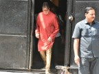 Bollywood actor Amitabh Bachchan is the brand ambassador for Kalyan Jewellers was spotted during shooting for an advertisement in Mumbai on April 16, 2018. Kalyan Jewellers is an Indian jewelry store chain owned by the Kalyan Group. Founded by TS Kalyanaraman, who started the first jewelry shop in Thrissur in 1993, Kerala.