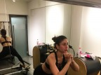 """Known for her zero size, Kareena Kapoor Khan never fails to give Monday motivation to her fans. In a recent picture uploaded by celebrity trainer Namrata Purohit, Kareena can be seen sweating it out in the gym. She wrote, """"#MondayMotivation + #MondayMissing Kareena practicing the abduction with a squat, this one requires a lot of control and focus! ."""""""