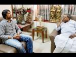 Kiccha Sudeep meets Karnataka CM Siddaramaiah