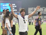 IPL-2018: Shah Rukh Khan's presence enthuses packed Eden crowd