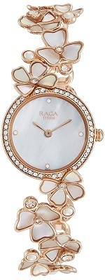 Titan Raga Analog Mother of Pearl Dial Women's Watch