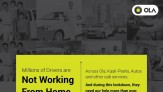 Ola Cabs supports drivers during Covid-19