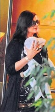 Aishwarya Rai Bachchan and Aradhya Bachchan