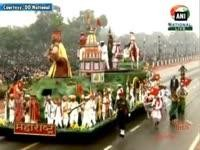 'Make in India' tableau among others steals the show in Republic Day parade