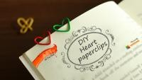 DIY : Heart Paper Clips