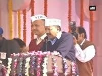Kejriwal addresses supporters at Ramlila ground after taking oath as Delhi CM, warns them of egoism