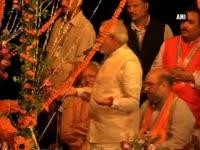 Modi says Varanasi endorsed even his 'silence'