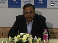 N Chandrasekaran, CEO and MD TCS