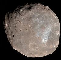 Mars, moon, Phobos, nasa,