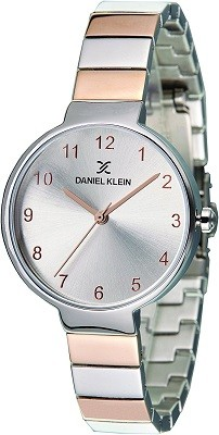 Daniel Klein Analog Silver Dial Watch