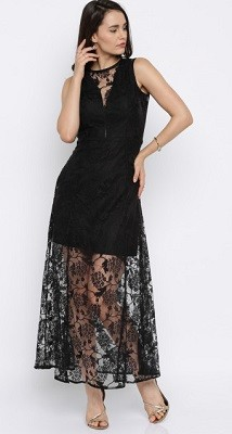 Maxi lace dress for women