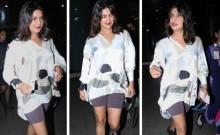 PIC: Priyanka Chopra trolled; this time for 'forgetting pants' and 'copying Kim Kardashian'