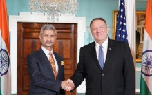 jaishankar and Mike pompeo