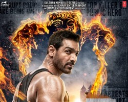 "The makers have dropped the first look poster of 'Satyameva Jayate' featuring John Abraham and, to say the least, he looks ruggedly handsome on it. Shared by Abraham himself on Twitter, the poster has a patriotic theme to it. While sharing the look, he wrote, ""This Independence Day, Justice will roar! #SatyamevaJayateOn15Aug @zmilap @BajpayeeManoj @SMJFilm @TSeries @EmmayEntertain @nikkhiladvani #BhushanKumar @aishasharma25."" The cop drama will also have Manoj Bajpayee in a pivotal role. Written and directed by Milap Milan Zaveri of 'Kaante' fame, the film is scheduled to hit the theaters on August 15."