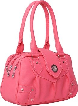Shoulder Bag  (Pink)