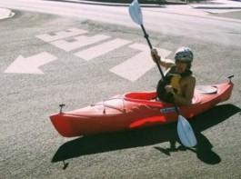 25. Kayaking