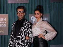 Karan Johar and Deepika Padukone
