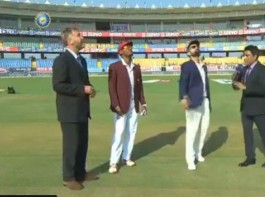 India win toss, opt to bat first against West Indies