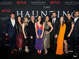 Celebs at The Haunting Of Hill House premiere