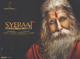 Amitabh Bachchan's look in Sye Raa Narasimha Reddy