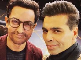 Karan Johar unveils Aamir Khan as Koffee with Karan season 6 guest