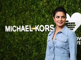 Priyanka Chopra wears suede dress to the 'Golden Heart' awards