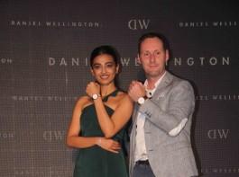 Radhika Apte unwraps new collection of Daniel Wellington watches