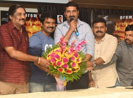 Prem at Shiva Rajkumar-Sudeep's The Villain success meet