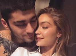 Gigi Hadid and Zayn Malik show their love on Instagram
