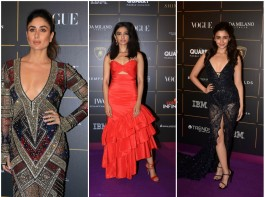 Celebs at Vogue Women Of the Year Awards