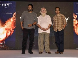 R Madhavan, Ananth Mahadevan and Nambi Narayanan at Rocketry - The Nambi Effect teaser launch