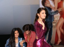 Shah Rukh Khan, Anushka Sharma and Katrina Kaif