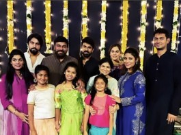 Diwali Celebrations at Mega Star Chiranjeevi house